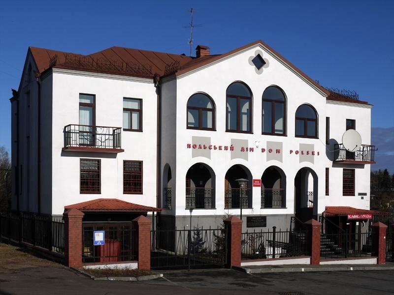 Tak obecnie wygląda Dom Polski w Żytomierzu