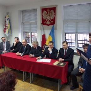 Spotaknia Opłatkowego w Domu Polskim dla działaczy polonijnych Zytomierszczyzny