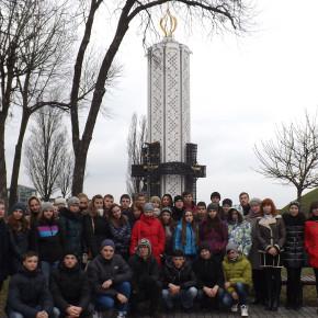 """Wycieczka do muzeum """"Pamięci ofiar głodu na Ukrainie"""" w Kijowie"""