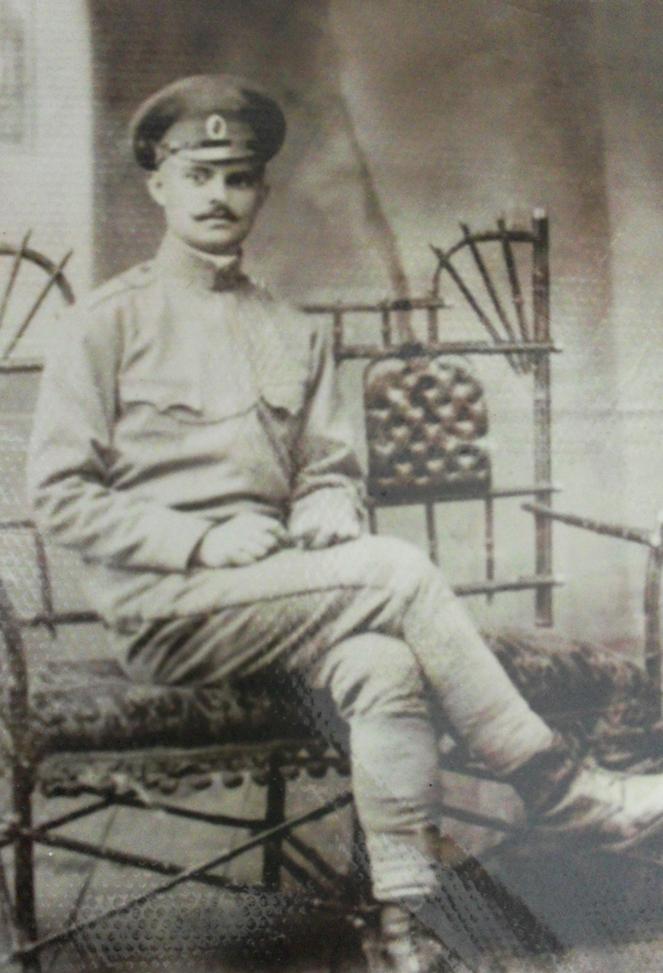 Pan Aleksander Żukow – oficer armii carskiej