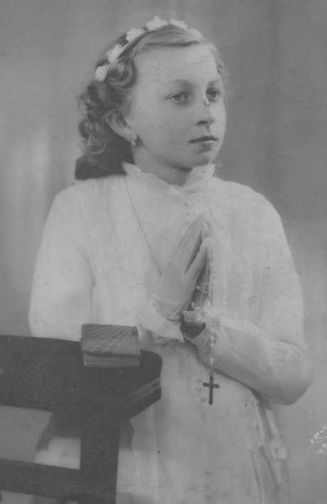 Maria Brzecka – do pierwszej spowiedzi (Polska, 1916 r.)