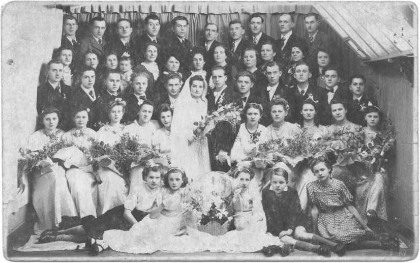 Weseli Marii Brzeckiej i Józefa Kondratowicza (Francja, 1938 r.)