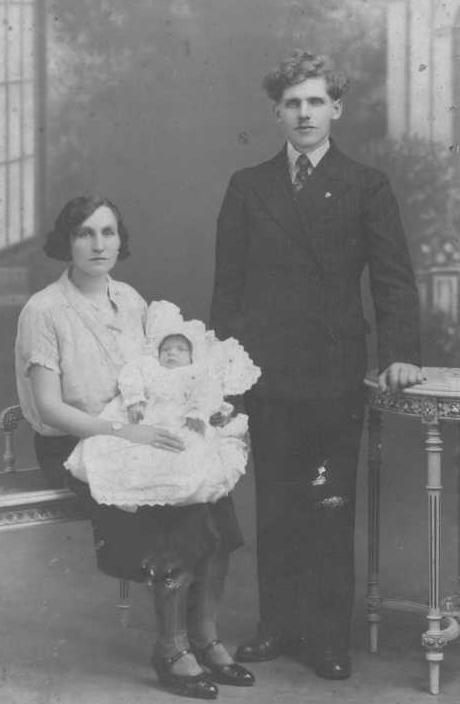 Maria i Józef z córką Aurelią