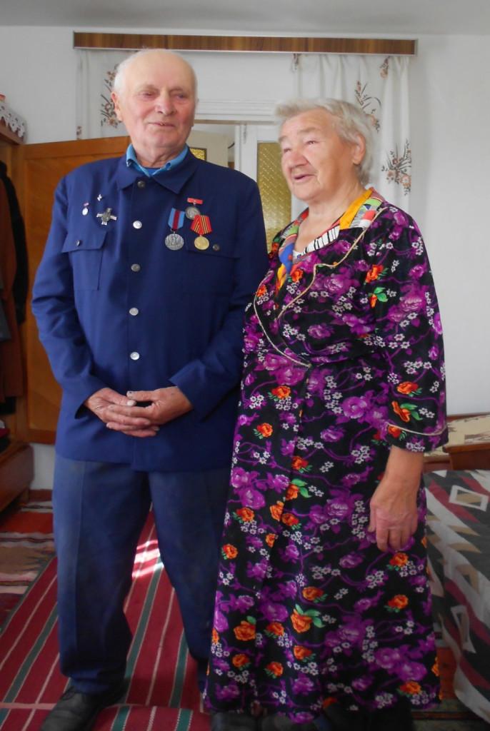 Franciszek i Zofia Jakowczyk (Dowbysz, wrzesień 2011 roku)