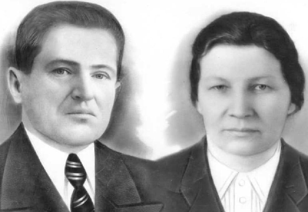 Stanisław Kurjata z żoną Elżbietą