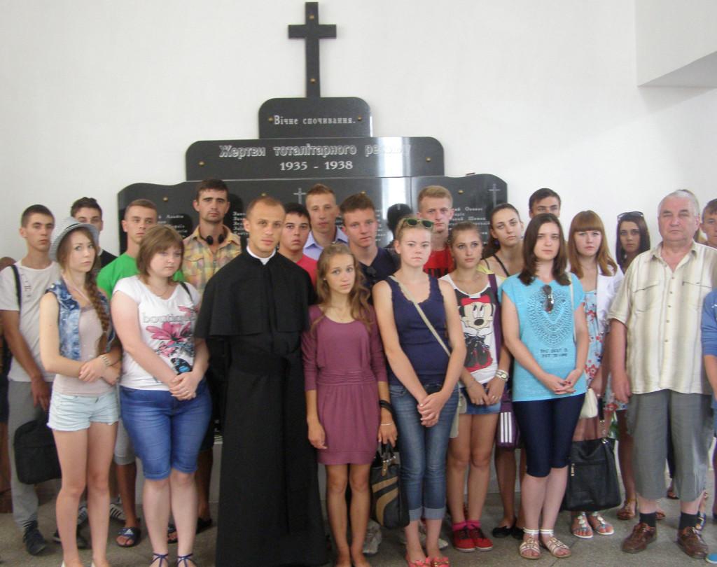W lipcu 2013 roku do Sanktuarium Matki Boskiej Fatimskiej zawitały uczestnicy Szkoły Letniej języka i Kultury Polskiej