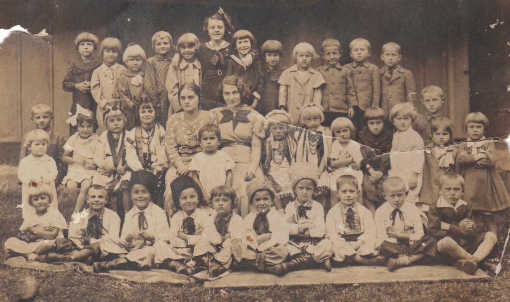 W przedszkolu lata 1939-1940