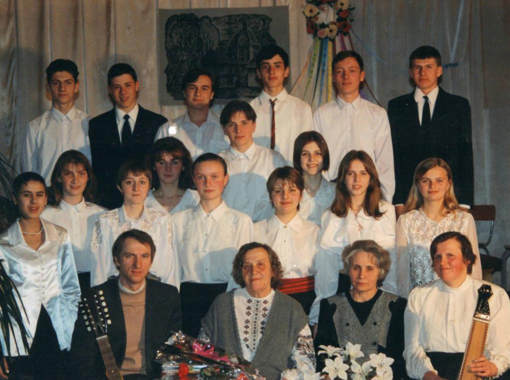 Twórczy wieczór Jarosławy Pawluk w jej rodzimych Brodach (1999 rok)