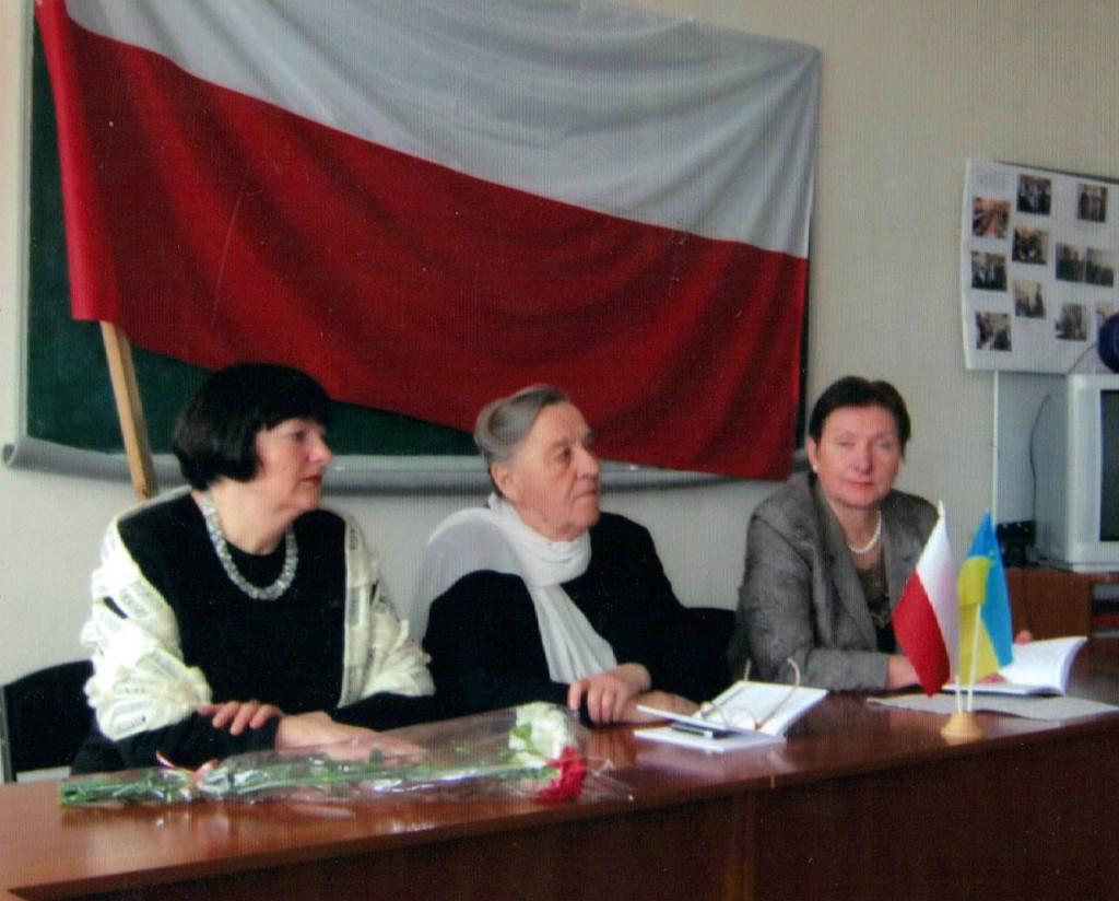 Spotkanie ze studentami w Centrum Polonistyki na Żytomierskim Uniwersytecie im. I. Franki
