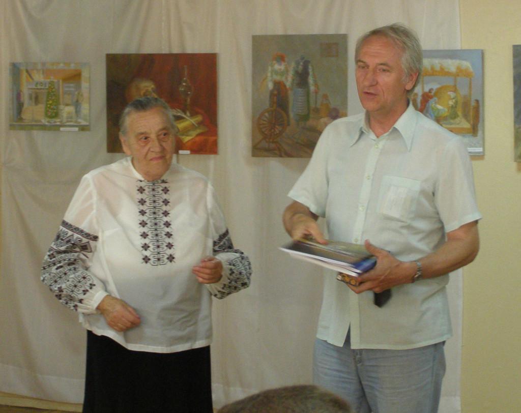 Prezentacja kolejnej zbiórki poetyckiej Jarosławy Pawluk w Żytomierskiej Bibliotece Obwodowej (lipiec 2013 roku)