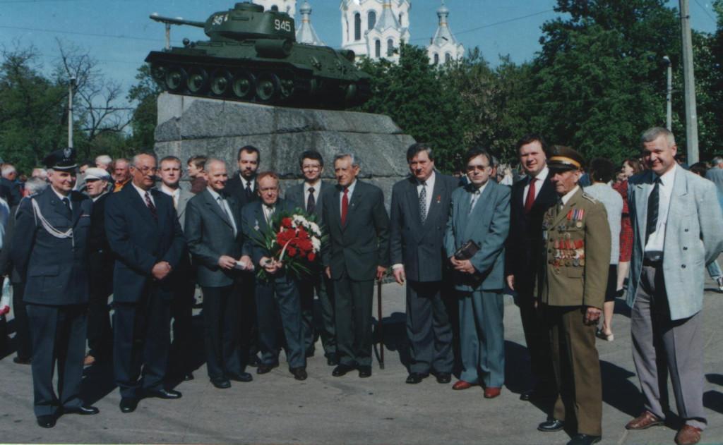 9 травня 2000 року ветерани польського війська Житомирщини приймали делегацію Департаменту до справ комбатантів ті репатрійованих осіб Польщі