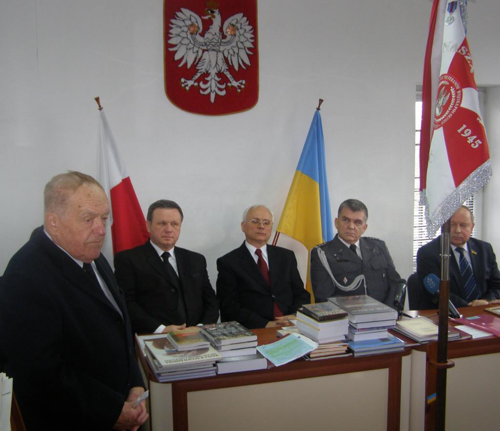 Урочистість з нагоди передачі шдандару до Житомирського краєзнавчого музею (Польський дім, 23 листопада 2012 року)