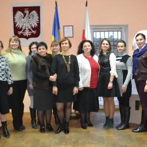 Spotkanie z nauczycielami Żytomierza
