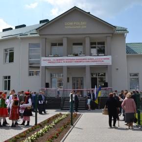 Uroczystość otwarcia Domu Polskiego w Barze