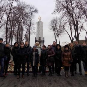 Wycieczka do Memoriału Głodów na Ukrainie