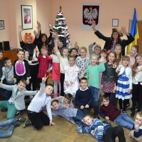 Rozrywki Noworoczne dla dzieci w Domu Polskim