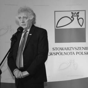 """Zmarł Prezes Stowarzyszenia """"Wspólnota Polska"""" Longin Komołowski"""