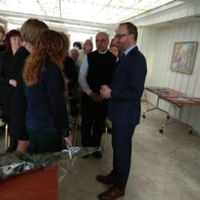 Spotkanie Polaków Żytomierszczyzny z nowym Konsulem Generalnym RP w Winnicy