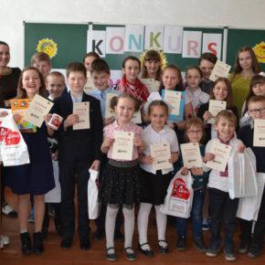 Konkurs recytatorski w Żytomierskiej szkole nr 10