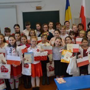 Konkurs recytacji poezji polskiej w szkole Marjanówskiej