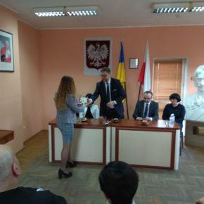 Wizyta Ambasadora Bartosza Cichockiego w Żytomierzu
