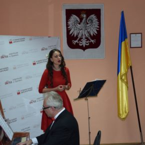 Uroczystości niepodległościowe w Domu Polskim w Żytomierzu