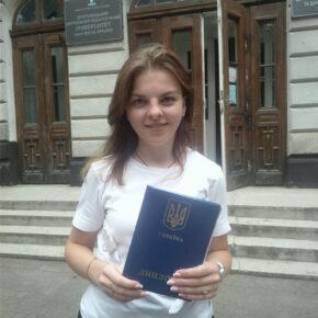 Gratulacje dla młodej polonistki