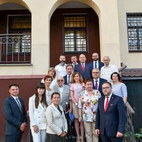 Delegacja z Polski zawitała do Żytomierza