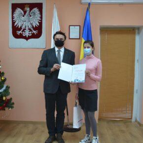 II miejsce w konkursie reportażu rodzinnego im. Mirosława Rowickiego dla Wiktorii Bagińskiej