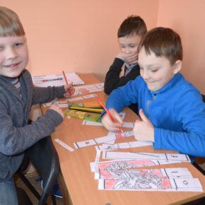 Zabawy językowe w Domu Polskim