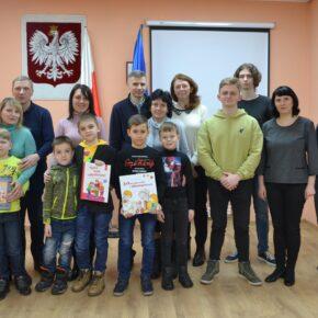Spotkanie rodzinne w ramach Dnia Języka Ojczystego